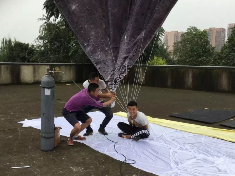5m moon balloon inflate 2 | Leader of Inflatable Tent | Advertising Balloon | Balloon Light | Helium Compressor in China