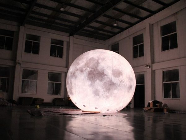 5m moon balloon light 2 | Leader of Inflatable Tent | Advertising Balloon | Balloon Light | Helium Compressor in China