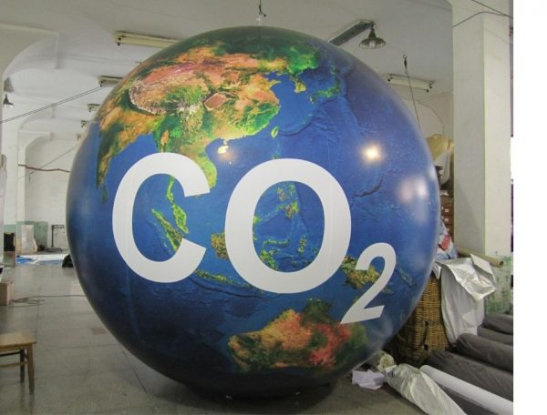CO2 Earth Balloon