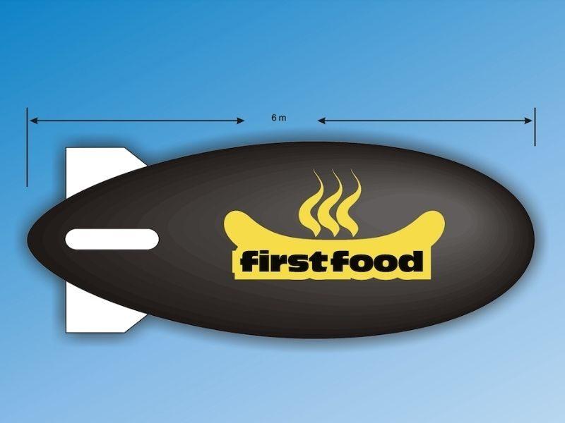 First Food Blimp