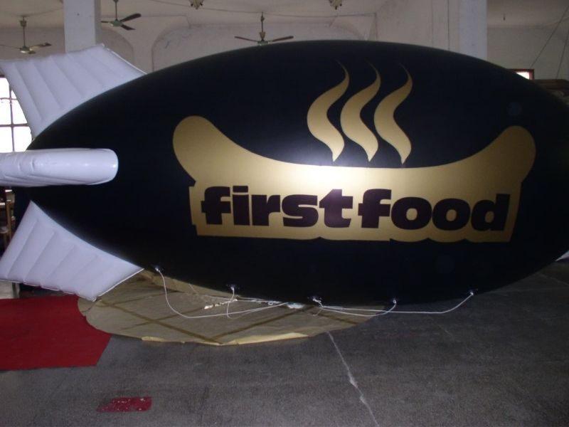 First Ford Blimp