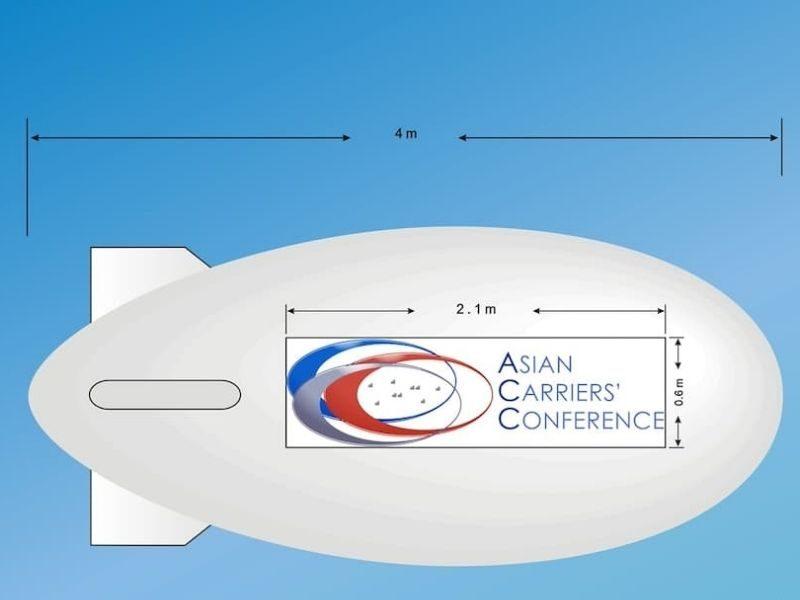 asian blimp design