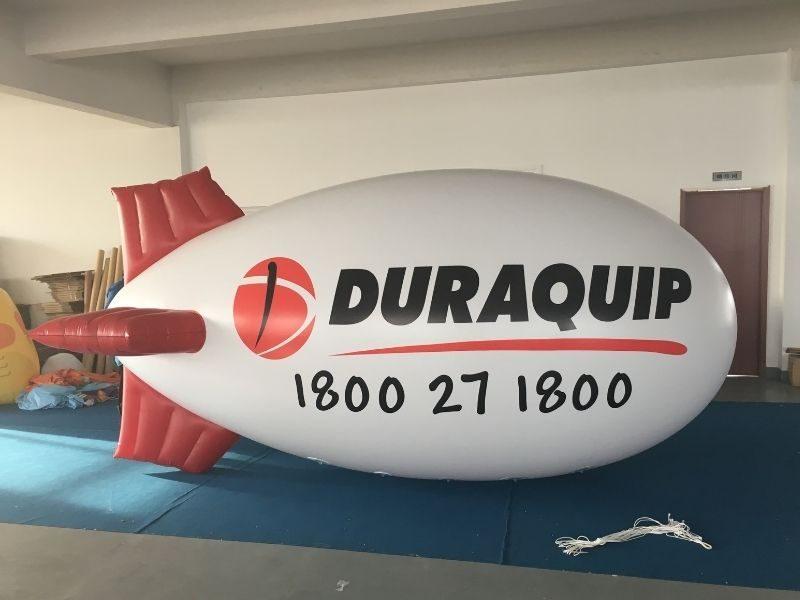 duraquip advertising blimp