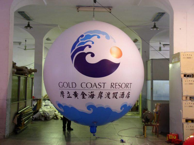 gold restore balloon