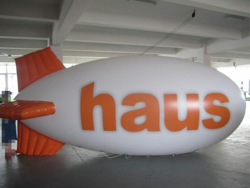 haus advertising blimp