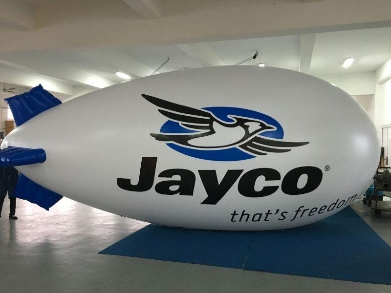 jayco advertising blimp