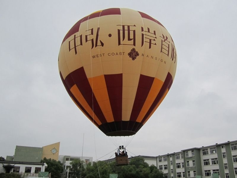 real estate hot balloon